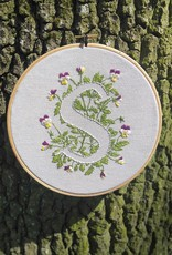 "Embroidery art ""Your Letter"" upon your request!"