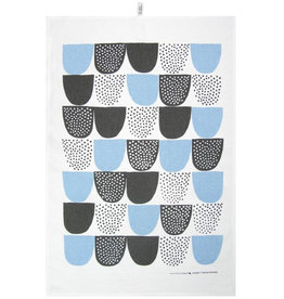 "KAUNISTE / ""SOKERI"" kitchen towel blue"