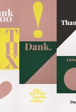 "Postcard set of 10 ""Danke"""