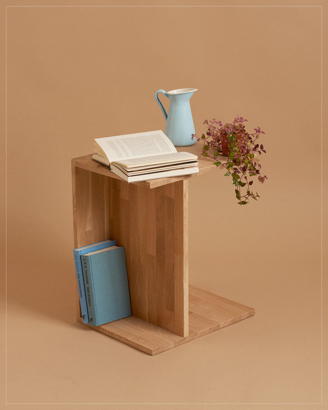 "hocker / ""Berliner Hocker"" en bois de chêne"