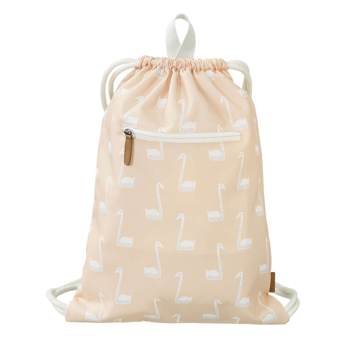 """Swimming bag """"Swan"""" made from recycled PET bottles"""