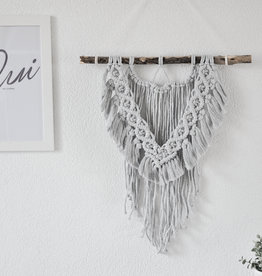 "BLUSH BOHO / Macramé wall hanging ""Viva"""