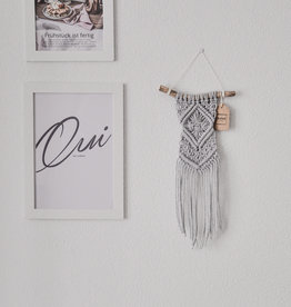 "BLUSH BOHO / Macramé wall hanging ""Omnia"""