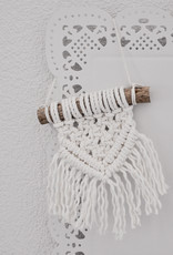 """Mini macramé wall hanging """"Oda"""" natural colour"""