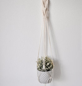 "BLUSH BOHO / Macramé hanging basket ""Beta"""