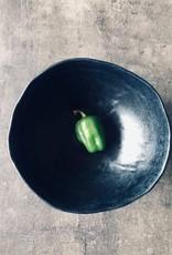 """""""Salmiakki"""" Plate set satin black"""