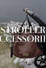 BABY WALLABY - Stroller hooks in coconut/black