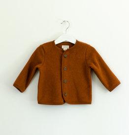 SLEEPY FOX / Bébé veste avec fermeture à boutons