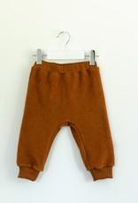 Baby Fleece-Pants kupferfarben