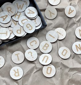 PUINE / Magnetic wooden letters