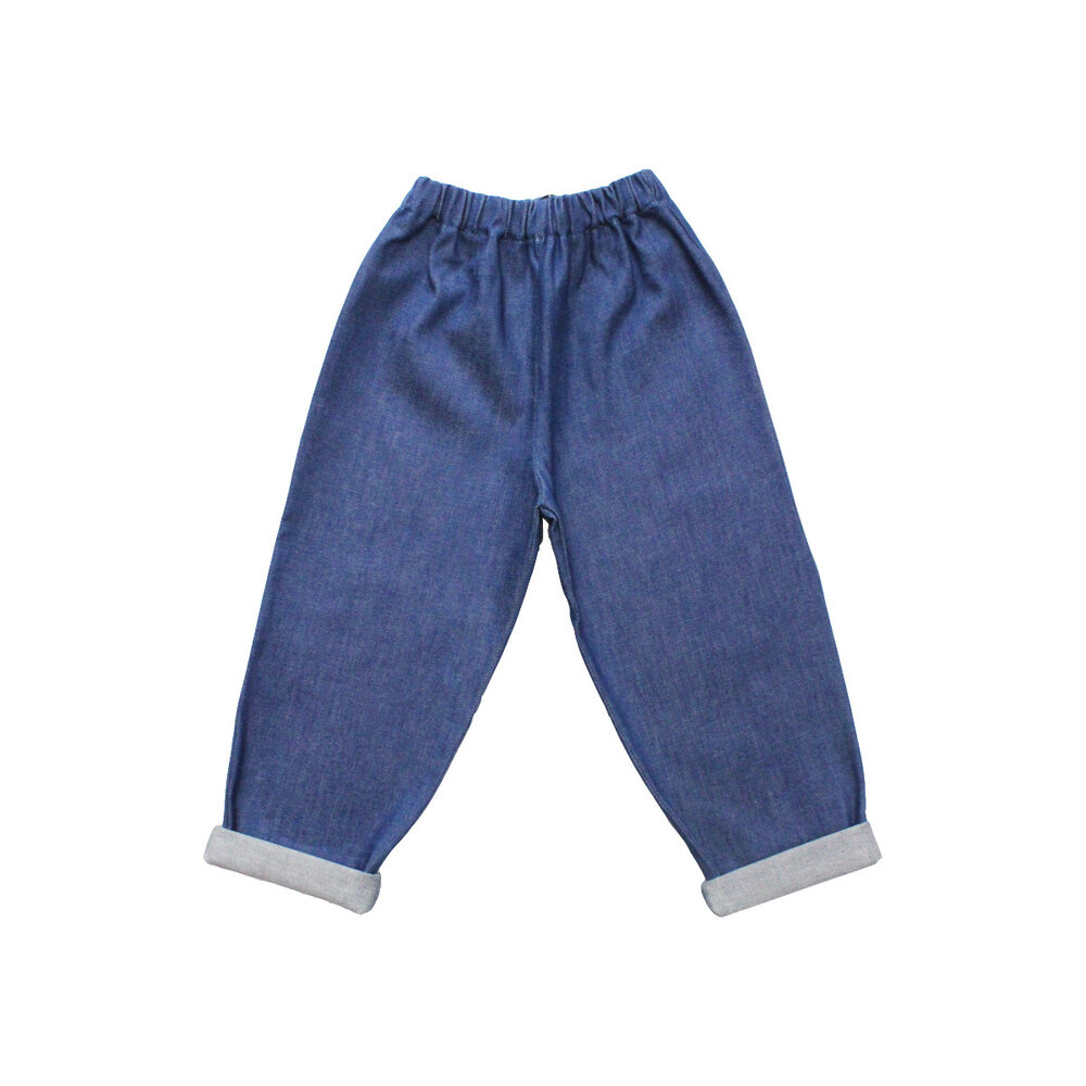 Blue Jeans for kids without pockets