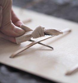 PUINE / Porte-accessoires en bois