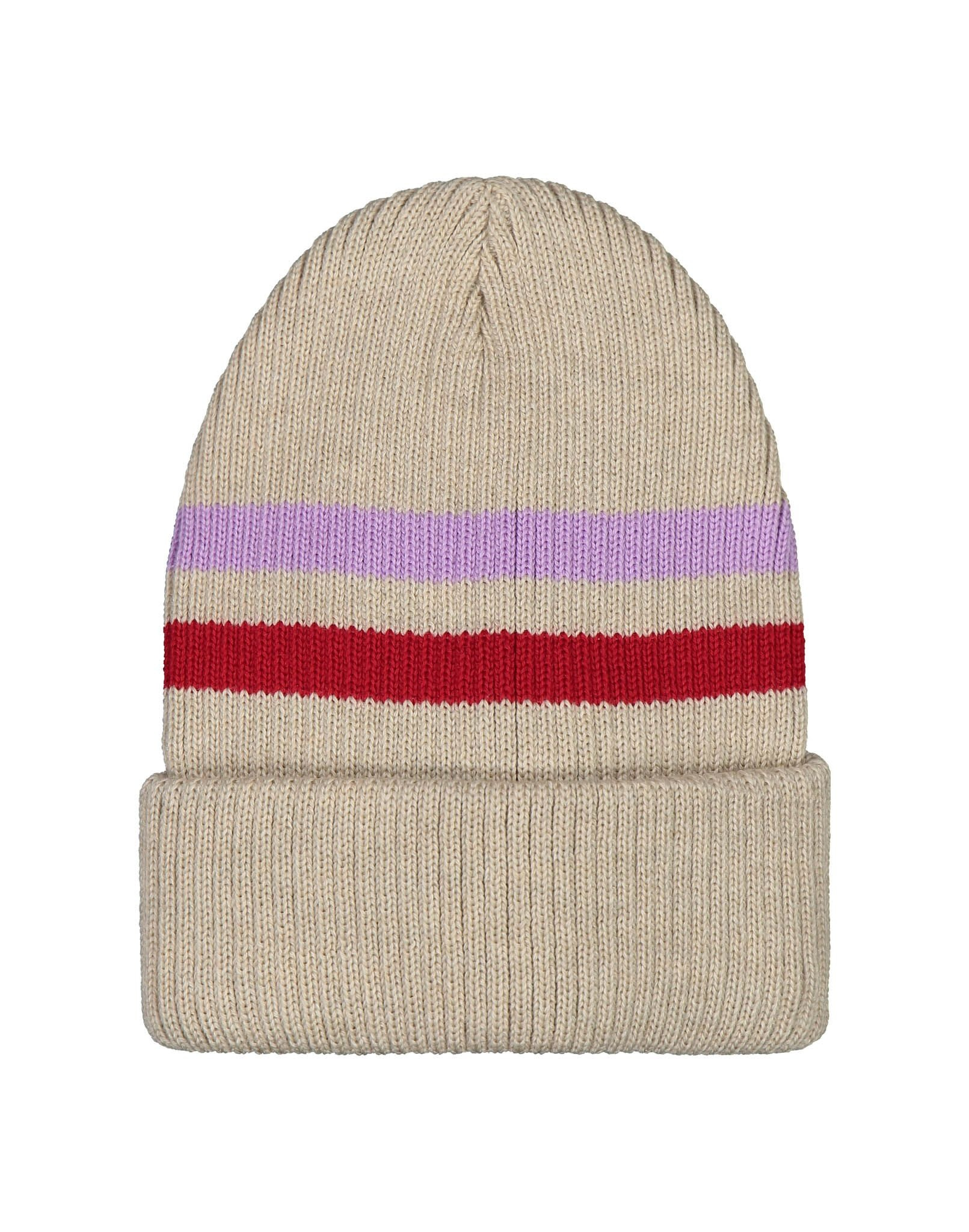 Merino wool Beanie oat colour for big and little ones
