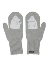 "Merino wool mittens ""Mörkö"" metal FOR BIG AND SMALL"