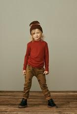 Kids pants brown coloured