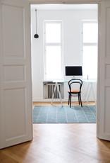 """Teppich """"Touko"""" aus recycelter Baumwolle 90x200 cm"""