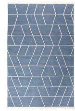 "Recycled cotton rug ""Touko"" 90x200x0.7 cm"