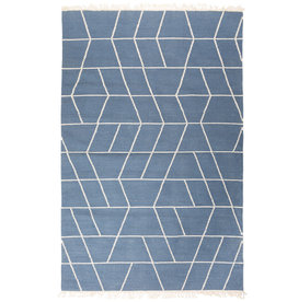 "MUM'S / Recycled cotton rug ""Touko"" 90x200x0.7 cm"