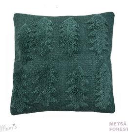 "MUM'S / Wollkissenbezug ""Forest"" grünfarben 45x45 cm"