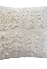 """Wool pillow case """"Forest"""" natural 45x45 cm"""