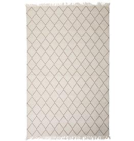 "MUM'S / Teppich ""Sade"" aus recycelter Baumwolle 90x200 cm"