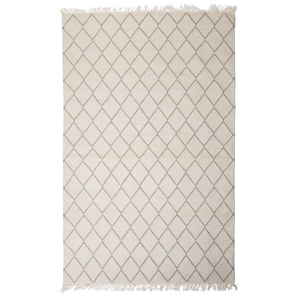 """Teppich """"Sade"""" aus recycelter Baumwolle 90x200 cm"""