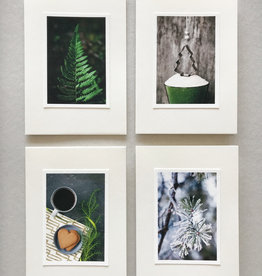 "SANNA HEIKINTALO / Greeting cards set of 4 ""Branch"""