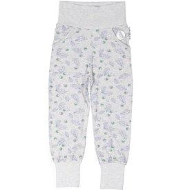"GEGGAMOJA / Baby Bamboo Pants ""Grey Mel Oak"""