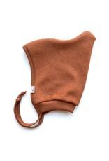 Baby Fleece-Mütze kupferfarben