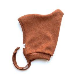 SLEEPY FOX / Baby Fleece-Mütze kupferfarben