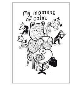 "CupOfTherapy / Postkarte ""MyMomentOfCalm"""
