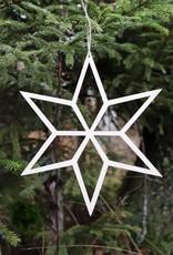Weihnachtsstern naturfarben D 20 cm