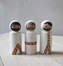 PAPURINO / Drei Könige für die Weihnachtskrippe