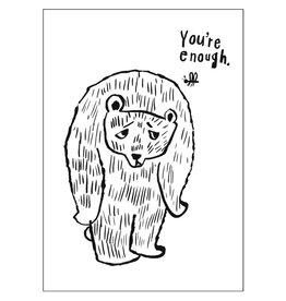 "CupOfTherapy / Postkarte ""YouAreEnough"""
