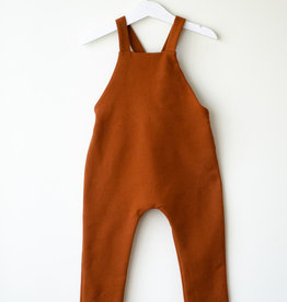 SLEEPY FOX / Baby Dungarees copper coloured