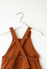Baby Dungarees copper coloured