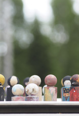 Bemalbare Figuren aus Birkenholz