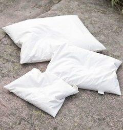 Baby Millet husk pillow white coloured 25x35cm