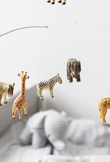 "Holz-Mobile ""Safari Animals"" handgemacht"
