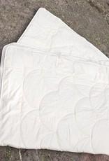 Baby Seidenbettdecke weissfarben 80x100cm