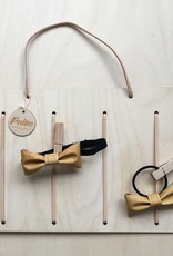 Wooden holder for accessories