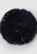 Reflektierender Pompon samtblau