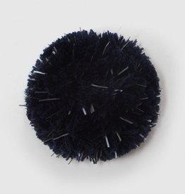 COSTO / Reflektierender Pompon samtblau