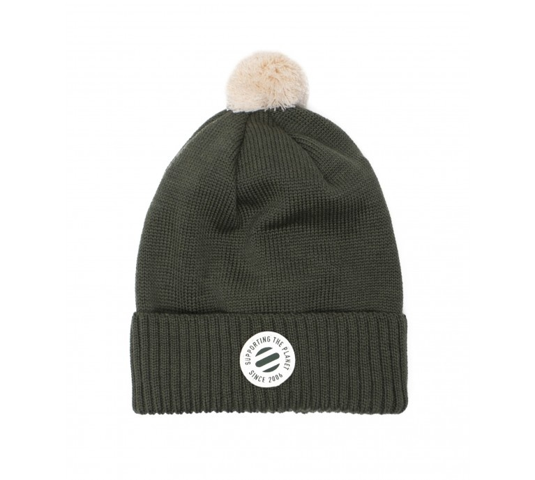 ONE SIZE Beanie moss green for adults