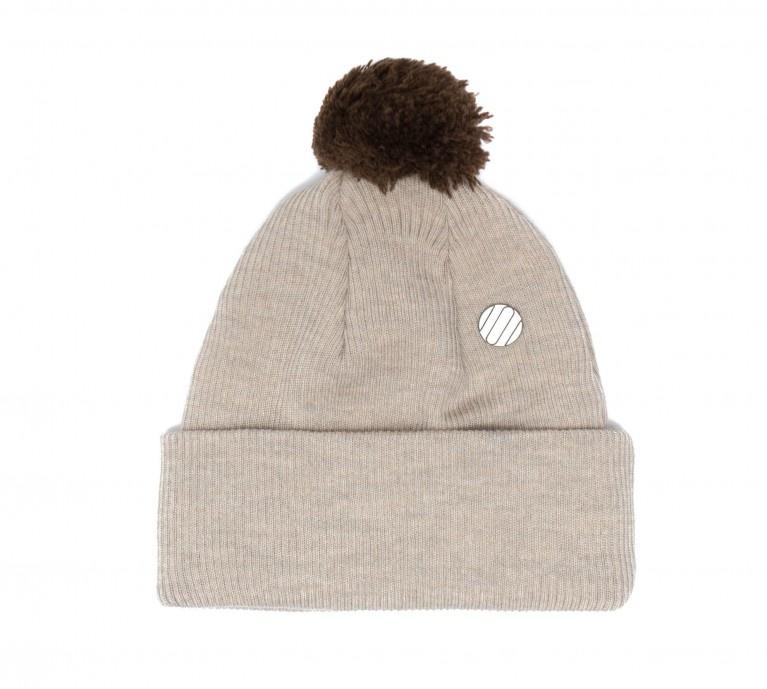 ONE SIZE Beanie Mütze beigefarben für Erwachsene