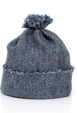Baby Beanie denim blue from fine Merino Wool