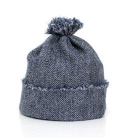 knitWORKS / Baby Beanie-Mütze jeansblau