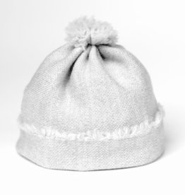 knitWORKS / Baby Beanie light grey