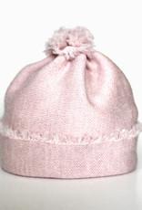 Baby Beanie light pink from fine Merino Wool