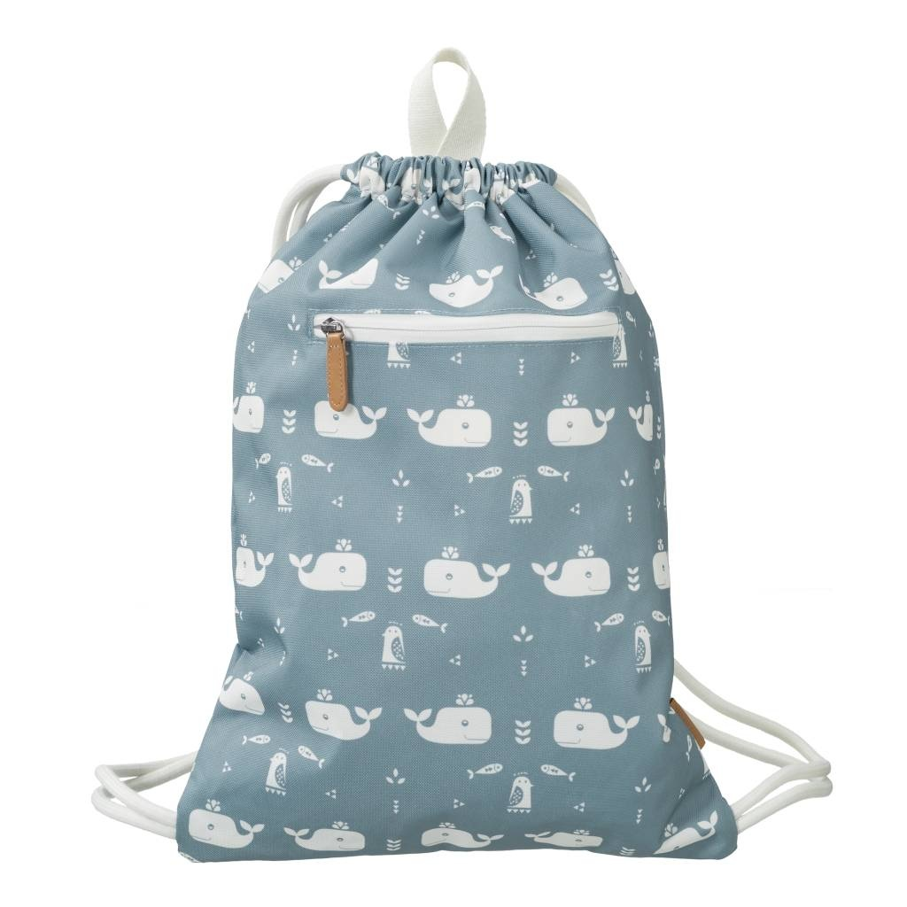 """Swimming bag """"Whale"""" made from recycled PET bottles"""